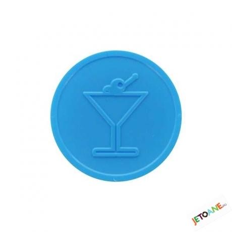 Inchiriere Jetoane Albastre Pahar de Cocktail