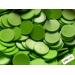 Jetoane rotunde, verde, blank, 23 mm