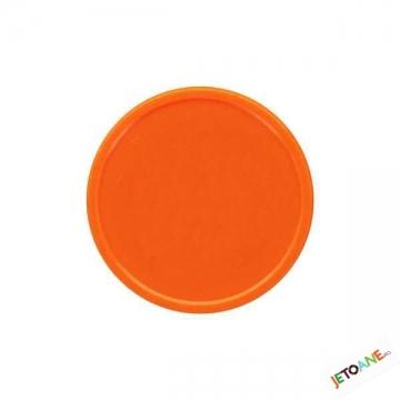 Jetoane blank de culoare portocalie
