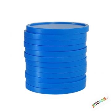Jetoane blank de culoare albastra