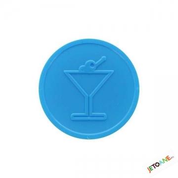 Jetoane Relief Cocktail Albastre